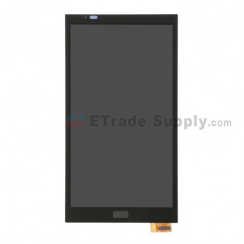 For HTC Desire 816W LCD Screen and Digitizer Assembly  Replacement - Black - With Logo - Grade S+