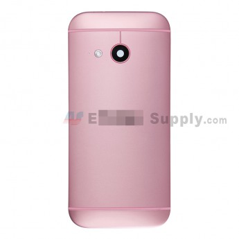 For HTC One Mini 2 Rear Housing  Replacement (Pink) - With Logo - Without Words - Grade S+