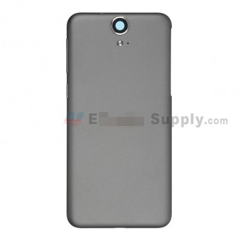 For HTC One E9 Battery Door  Replacement - Gray - With Logo - Grade S+