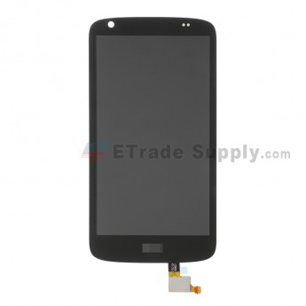 For HTC Desire 526 LCD Screen and Digitizer Assembly Replacement - Black - With Logo - Grade S+