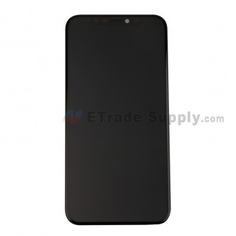 For Apple iphone 11 Pro LCD Screen and Digitizer Assembly with Frame Replacement - Black - Grade R