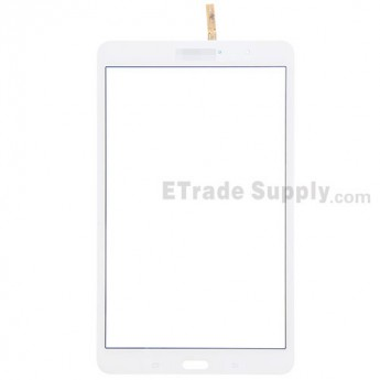 For Samsung Galaxy Tab Pro 8.4 Samsung-T320 Digitizer Touch Screen Replacement - White - With Logo - Grade S+