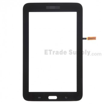 For Samsung Galaxy Tab 3 Lite 7.0 Samsung-T110 Digitizer Touch Screen Replacement - Black - With Logo - Grade S+