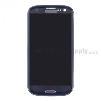 For Samsung Galaxy S III SPH-L710 LCD Screen and Digitizer Assembly with Front Housing Replacement - Sapphire - Grade S+