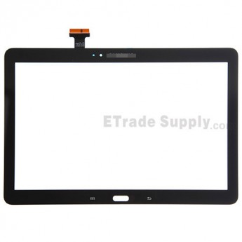 For Samsung Galaxy Note 10.1 2014 Edition SM-P600 Digitizer Touch Screen Replacement - Black - With Logo - Grade S+