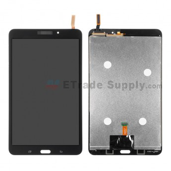 For Samsung Galaxy Tab 4 8.0 SM-T330 LCD Screen and Digitizer Assembly Replacement - Black - With Logo - Grade S+