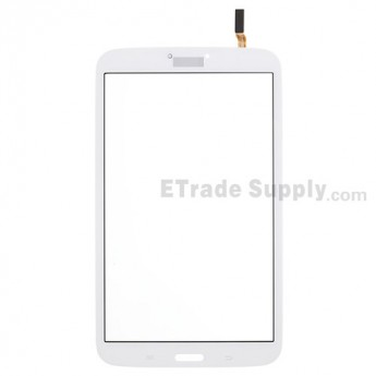 For Samsung Galaxy Tab 3 8.0 SM-T310 Digitizer Touch Screen  Replacement - White - Grade S+
