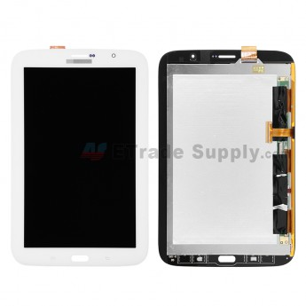 For Samsung Galaxy Note 8.0 GT-N5100 LCD Screen and Digitizer Assembly Replacement - White - With Logo - Grade S+