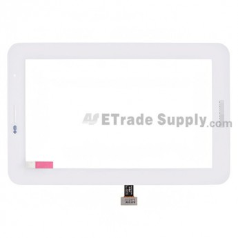 For Samsung Galaxy Tab 2 7.0 P3100 Digitizer Touch Screen Replacement - White - Grade S+