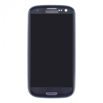 For Samsung Galaxy S III SCH-I535 LCD Screen and Digitizer Assembly with Front Housing Replacement - Sapphire - Grade S