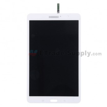 For Samsung Galaxy Tab Pro 8.4 SM-T320 LCD Screen and Digitizer Assembly Replacement - White - With Logo - Grade S+