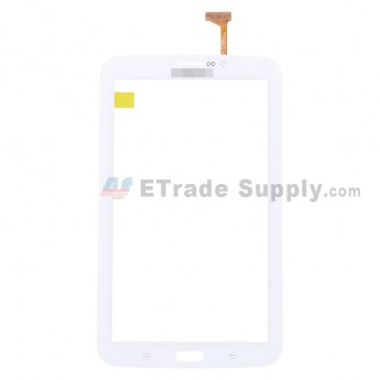 For Samsung Galaxy Tab 3 7.0 Samsung-T211 Digitizer Touch Screen Replacement - White - With Logo - Grade S+