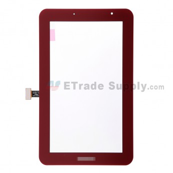 For Samsung Galaxy Tab 2 7.0 GT-P3113TS Digitizer Touch Screen  Replacement - Red - Grade S+