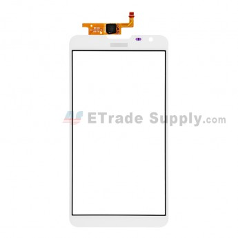 For Huawei Ascend Mate2 4G Digitizer Touch Screen  Replacement - White - With Logo - Grade S+