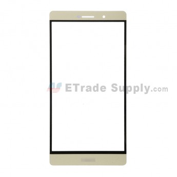 For Huawei P8max Glass Lens Replacement - Gold - With Logo - Grade S+