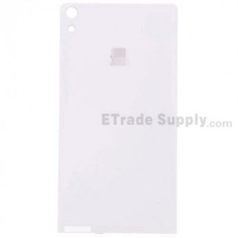 For Huawei Ascend P6 Battery Door  Replacement - Gold - Grade S+