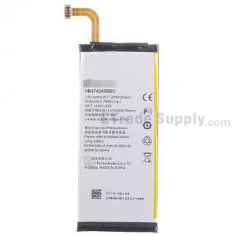 For Huawei Ascend P6 Battery  Replacement (HB3742A0EBC, 2000 mAh) - Grade S+
