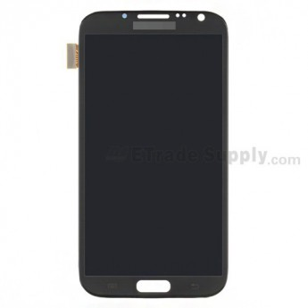 For Samsung Galaxy Note 2 LTE N7105 LCD Screen and Digitizer Assembly Replacement - Gray - Grade S+