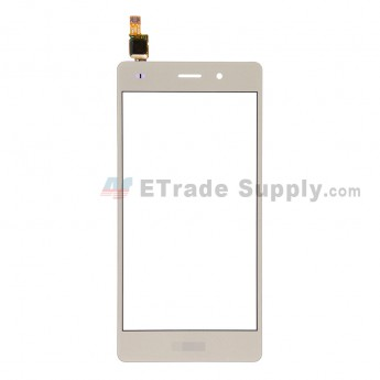For Huawei P8lite Digitizer Touch Screen Replacement - Gold - With Logo - Grade S+