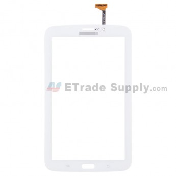For Samsung Galaxy Tab 3 7.0 P3200 Digitizer Touch Screen Replacement - White - With Logo - Grade S+