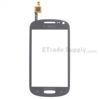 For Samsung Galaxy Exhibit SGH-T599 Digitizer Touch Screen Replacement - Gray - With Logo - Grade S+