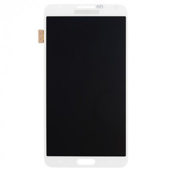 For Samsung Galaxy Note 3 Series LCD Screen and Digitizer Assembly Replacement - White - Grade S