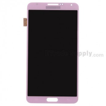 For Samsung Galaxy Note 3 N9005 LCD Screen and Digitizer Assembly Replacement - Pink - Grade S