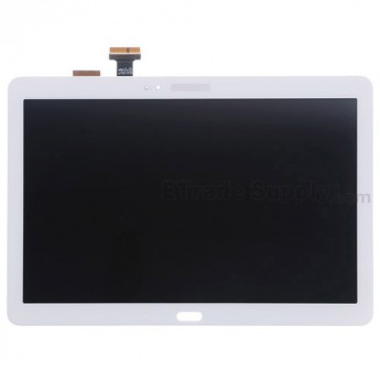 For Samsung Galaxy Note 10.1 2014 Edition SM-P600 LCD Screen and Digitizer Assembly Replacement - White - With Logo - Grade A