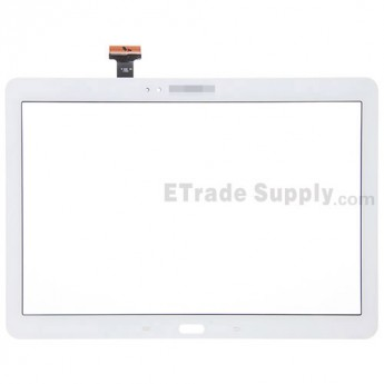 For Samsung Galaxy Note 10.1 2014 Edition Samsung-P600 Digitizer Touch Screen Replacement - White - With Logo - Grade S+