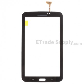 For Samsung Galaxy Tab 3 7.0 P3210 Digitizer Touch Screen Replacement - Black - With Logo - Grade S