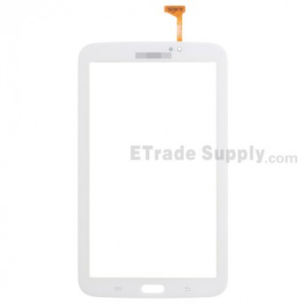 For Samsung Galaxy Tab 3 7.0 Samsung-T210 Digitizer Touch Screen Replacement - White - With Logo - Grade S+