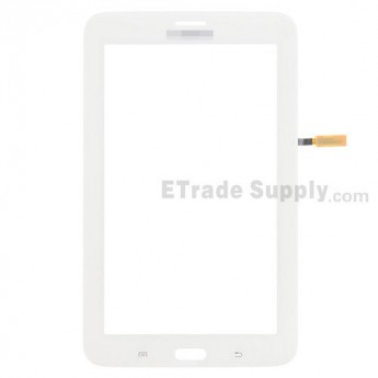 For Samsung Galaxy Tab 3 Lite 7.0 Samsung-T111 Digitizer Touch Screen Replacement - White - With Logo - Grade S+