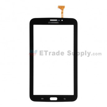 For Samsung Galaxy Tab 3 7.0 SM-T211 Digitizer Touch Screen Replacement - Black - With Logo - Grade S