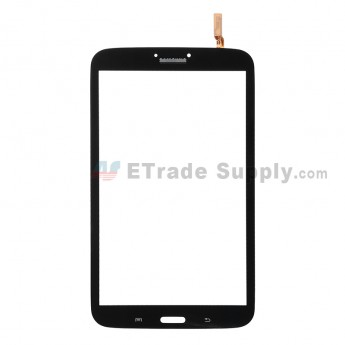 For for Samsung Galaxy Tab 3 8.0 SM-T310 Digitizer Touch Screen  Replacement - Black - Grade S+