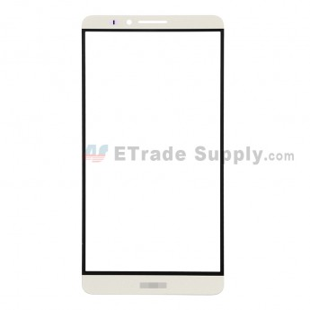 For Huawei Ascend Mate7 Glass Lens Replacement - Gold - With Logo - Grade R