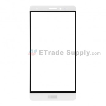 For Huawei Mate S Glass Lens Replacement - White - With Logo - Grade R