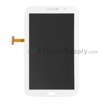 For Samsung Galaxy Note 8.0 GT-N5110 LCD Screen and Digitizer Assembly Replacement - White - With Logo - Grade S