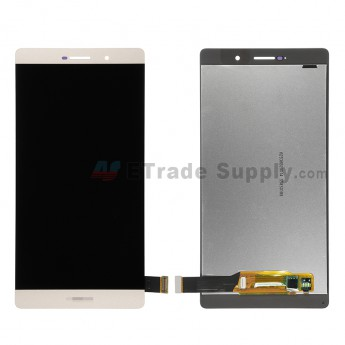 For Huawei P8max LCD Screen and Digitizer Assembly Replacement - Gold - With Logo - Grade S+