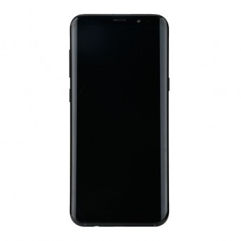 For Samsung Galaxy S8 Series LCD Screen and Digitizer Assembly with Front Housing Replacement - Black - Without Logo - Grade S