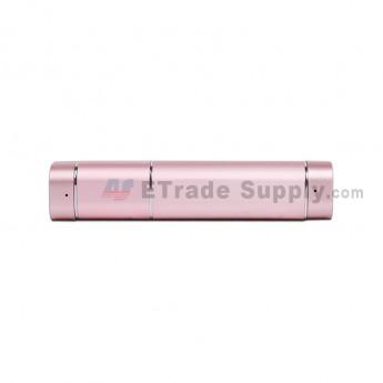 2in1 Potable Mini Earpiece Wireless Stereo Bluetooth Earphone Headset Power Bank - Rose Gold (3)