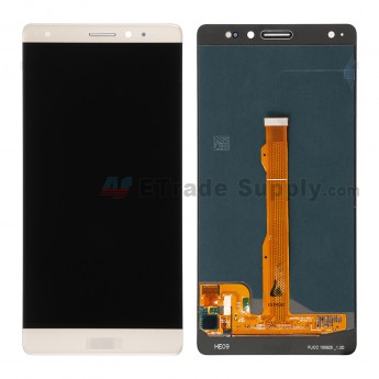 For Huawei Mate S LCD Screen and Digitizer Assembly Replacement - Gold - With Logo - Grade S+