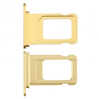 For Apple iPhone 11 SIM Card Tray Replacement (Single SIM Card) - Yellow - Grade S+