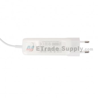 For Apple Macbook Magsafe 2 Power Adapter Replacement (Eur Plug,45W) - Grade R