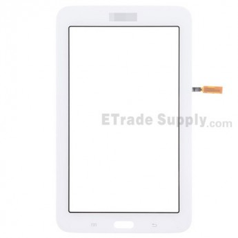 For Samsung Galaxy Tab 3 Lite 7.0 Samsung-T110 Digitizer Touch Screen Replacement - White - With Logo - Grade S+