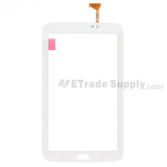 For Samsung Galaxy Tab 3 7.0 P3210 Digitizer Touch Screen Replacement - White - With Logo - Grade S+