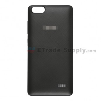 For Huawei Honor 4C Battery Door Replacement - Black - With Logo - Grade S+