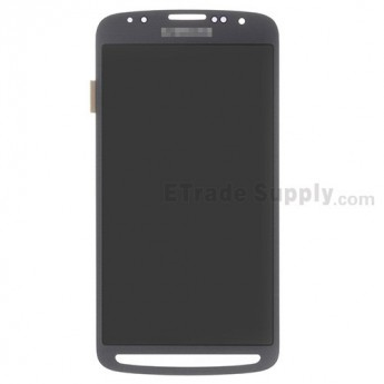 For Samsung Galaxy S4 Active GT-I9295/SGH-I537 LCD Screen and Digitizer Assembly Replacement - Gray - With Logo - Grade S