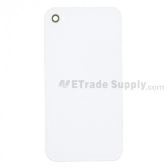 Apple iPhone 4 Battery Door without Logo (AT&T) ,White