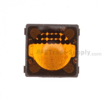 For BlackBerry Pearl 8100/8110/8120/8130/8300/8310/8320/8330/8800/8820/8830 Trackball Contact Sticker - Grade S+