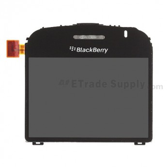 For Reclaimed BlackBerry Bold 9000 LCD with Factory Glass Lens,Part# 12360 002/004 Replacement - Grade S+